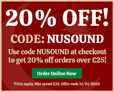 20% off with code NUSOUND